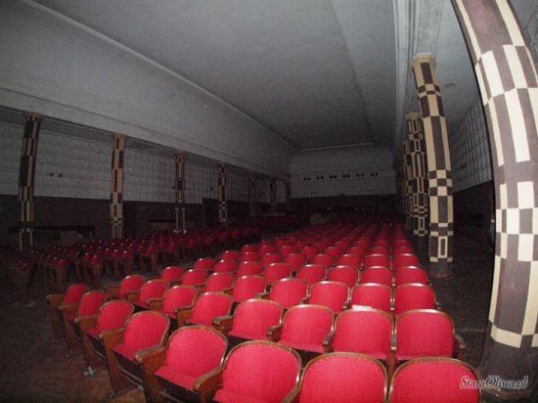 Wnętrze dawnego Kina Znicz (fot. Tomasz Strug)
