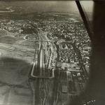 Wrzeszcz z lotu ptaka na zdjęciu sprzed wieku
