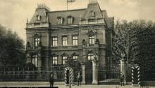 Villa Dippe przy Haupstrasse 98 (zbiory Krzysztofa Gryndera)