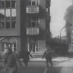 Aleja Grunwaldzka w radzieckiej kronice wojennej z 1945 roku