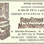 Zagadka pawilonu handlowego z ul. Waryńskiego