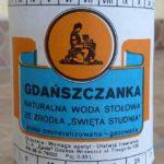 Butelki po wrzeszczańskich oranżadkach